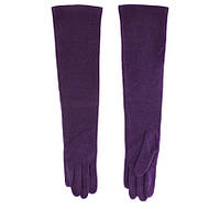 Перчатки женские шерстяные BJQ (LB70581176), фиолетовые