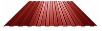 Профнастил стеновой ПС-8 0,38 мм Глянец (Ре) Китай