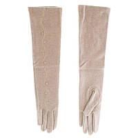 Перчатки женские шерстяные BJQ (LB70581188), бежевые