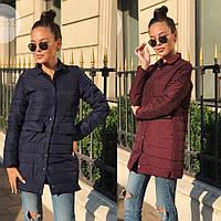 Женская стеганое пальто, фото 1