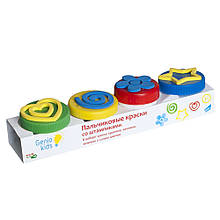 Набор для детского творчества Пальчиковые краски со штампиками