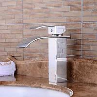 Ванной раковина смеситель в современном стиле одной ручкой одно отверстие горячей и холодной воды кран 05387496