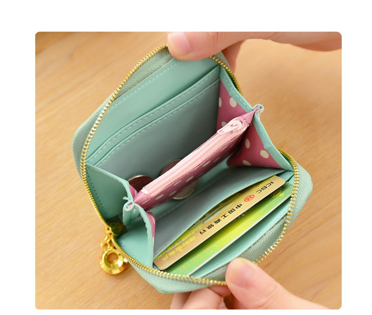 997597b6dab8 Женский маленький кошелек на молнии необычного нежного цвета , цена 178  грн., купить в Умани — Prom.ua (ID#591902365)