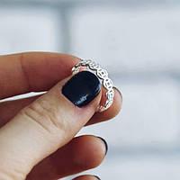 Монеты - серебряное кольцо 925 пробы