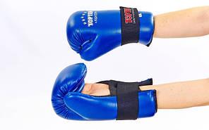 Перчатки для тхэквондо TOP TEN MA-5474 (PU, р-р S-L, цвета в ассортименте)