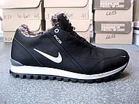 Зимние кожаные мужские кроссовки Nike 40-45 р-р, фото 1