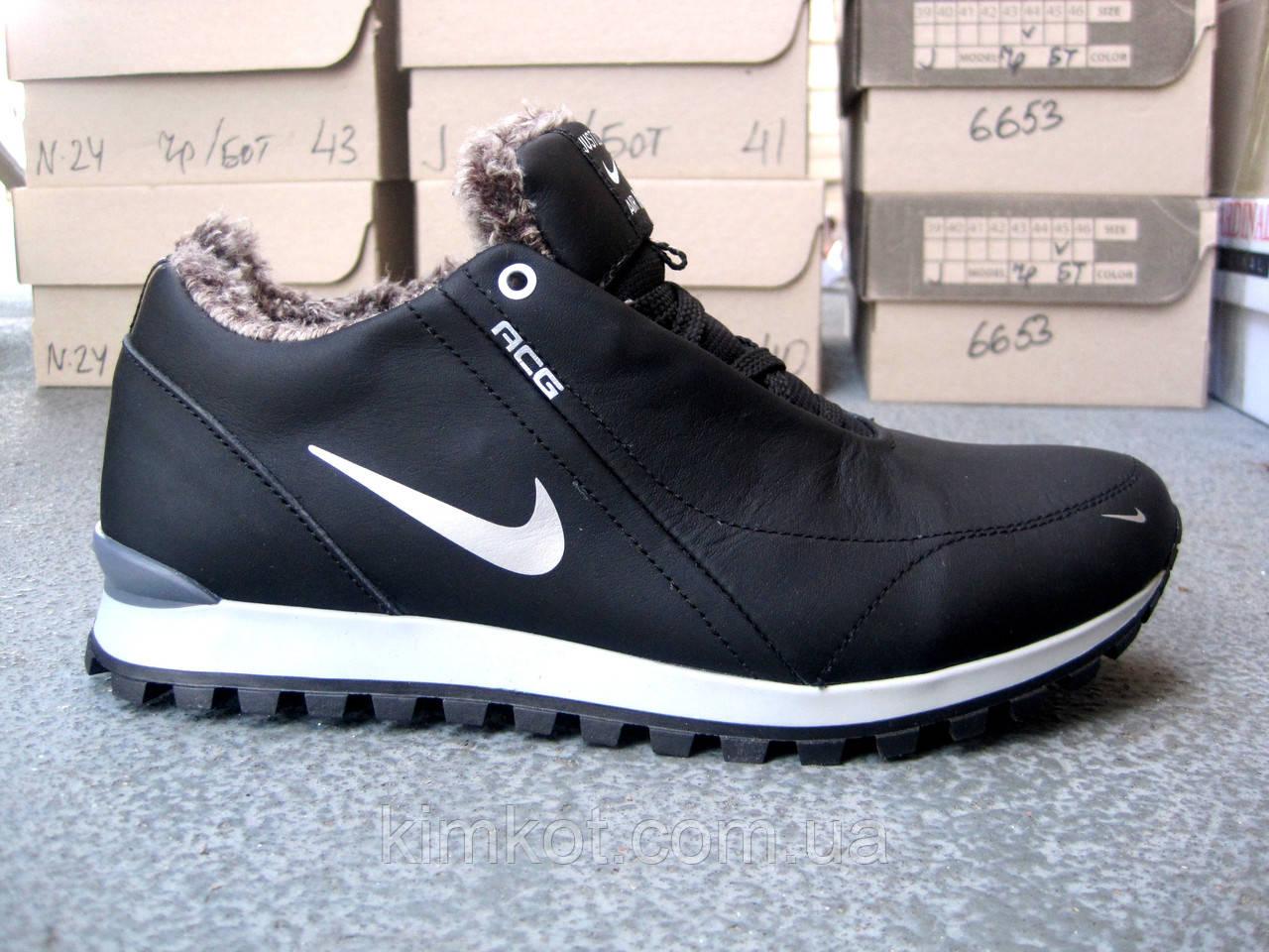 32b28c702 Зимние кожаные мужские кроссовки Nike 40-45 р-р: продажа, цена в ...