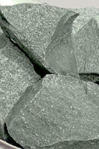 Жадеїт колотий середній 10 кг для лазні та сауни
