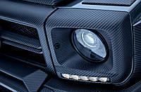 Карбоновые рамки передних фар Mercedes G-Class w463, фото 1