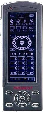 PROWEST універсальний пульт ду дистанційного керування із сенсорний екраном.
