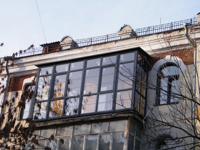 Французский балкон Rehau под ключ