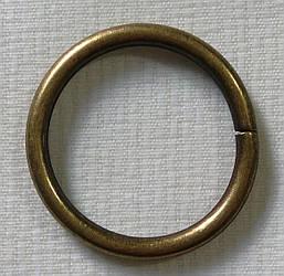 Кольцо обычное д. 25 мм, антик