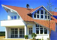 Остекление профилем Rehau коттеджей, домов, дач, фото 1