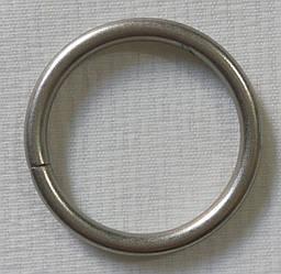 Кольцо обычное д. 25 мм, сатин