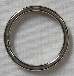 Кольцо обычное д. 25 мм, сталь