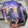 Зонт женский полуавтомат Города