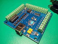 4-осевой USB контроллер шаговых двигателей станка с ЧПУ, 100 кГц, фото 1