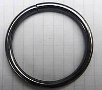 Кольцо обычное д. 25 мм, графит