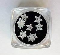 Фигурки перламутровые, ракушка, для аквариумного дизайна ногтей RENEE  IM 03-01
