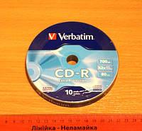 Диск CD-R Verbatim 700 Mb 52x для однократной записи