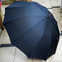 Зонт женский трость черный, фото 1