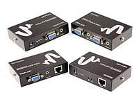 02-04-43. Удлинитель VGA и аудио сигнала до 100м, MT-100T