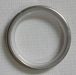 Кольцо тихое д. 25 мм, сатин
