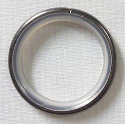 Кольцо тихое д. 25 мм, сталь