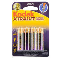 Батарейки Kodak Xtralife АА, 4 шт