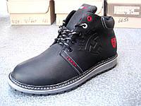 Мужские зимние ботинки T. Hilfiger (реплика), фото 1