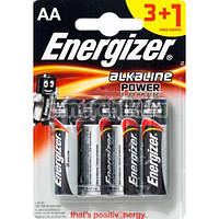 Батарейки Energizer Alkaline Power АА, 4 шт