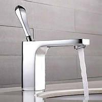 Современный Настольная установка Одной ручкой одно отверстие in Хром Ванная раковина кран 04976367