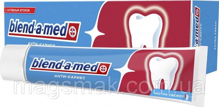 Зубная паста Blend-a-med Анти-Кариес Свежесть 50 мл, фото 2
