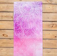 Коврик для йоги из натурального каучука INSPIRATION