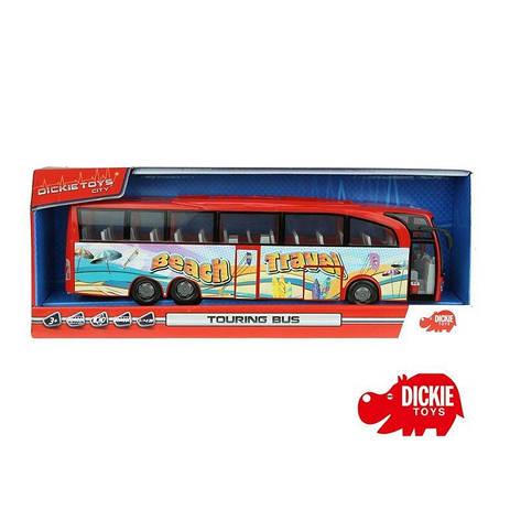 Автобус Туристический красный Dickie 3745005, фото 2