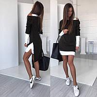 Красивое платья-трансформер с ангоры Лд0332