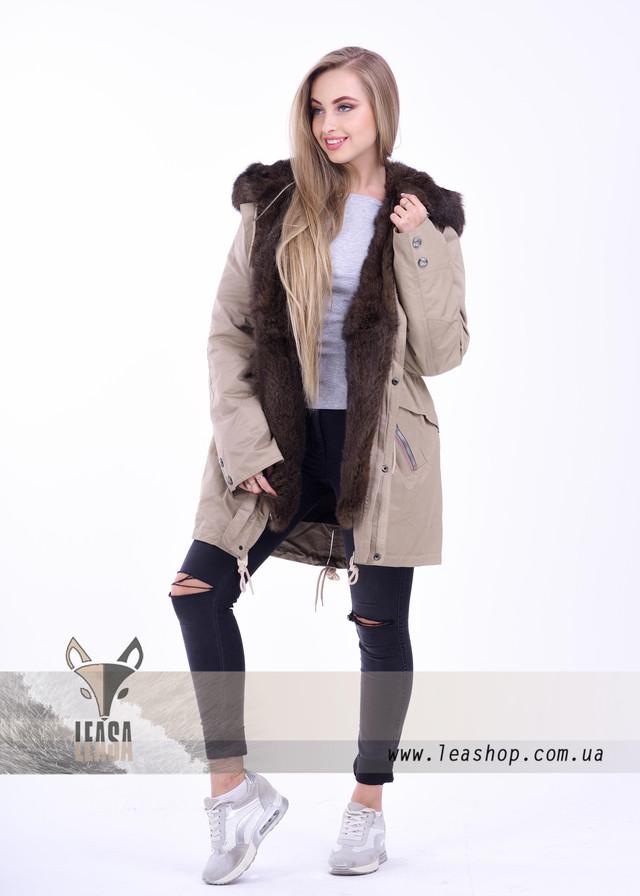 Куртка парка женская зимняя купить | ФОТО