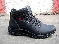 Зимние кожаные мужские ботинки, фото 1