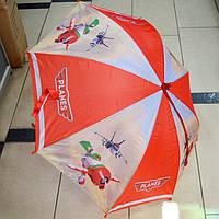 Зонт трость для мальчика Самолетики