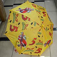 Зонт детский трость Самолетики