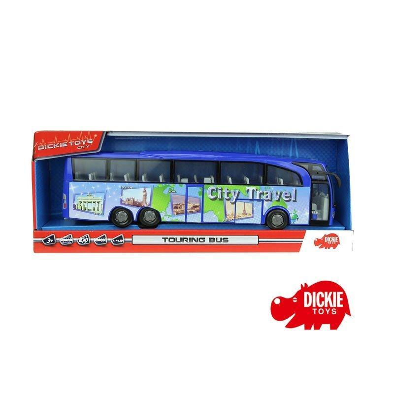 Автобус Туристический  синий 1:43 Dickie 3745005