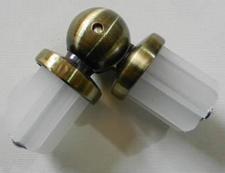 Соединитель угловой д. 25 мм, антик
