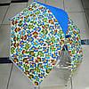 Зонт трость силикон Обезьянки