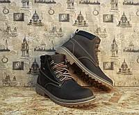 Ботинки мужские в стиле Timberland натуральная кожа качественные