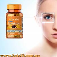 Лютеин для глаз 20мг - защита зрения от старения и катаракты, зеаксантин
