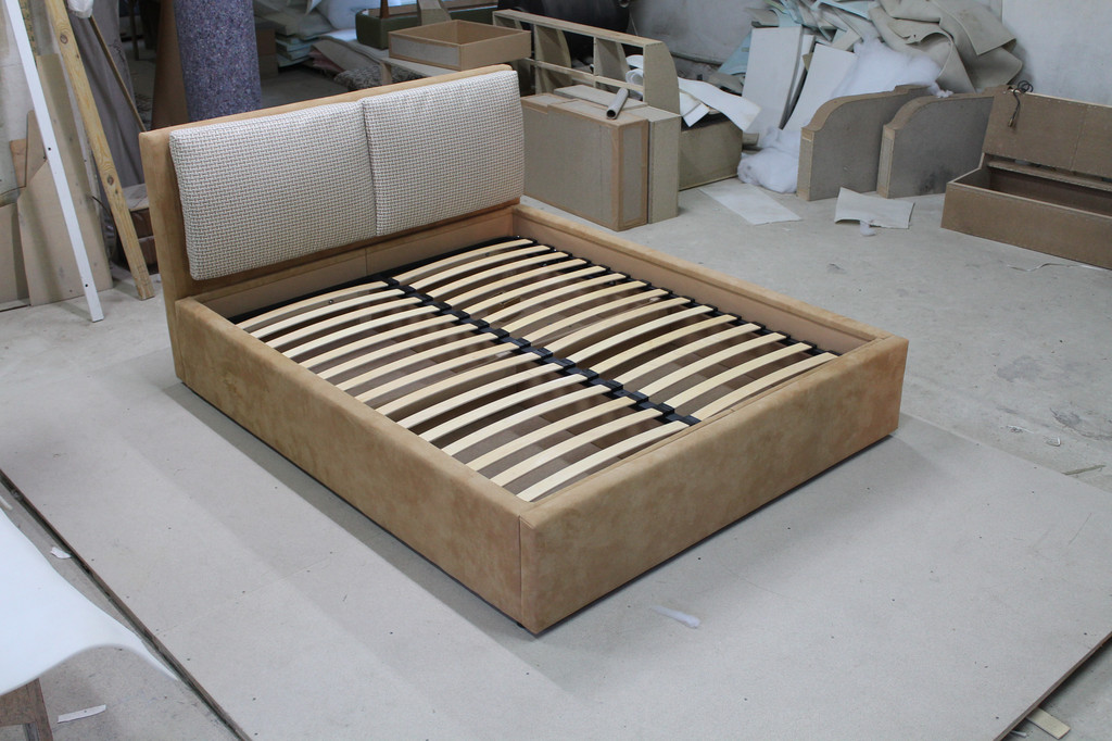 Двоcпальне ліжко Віолетта 2