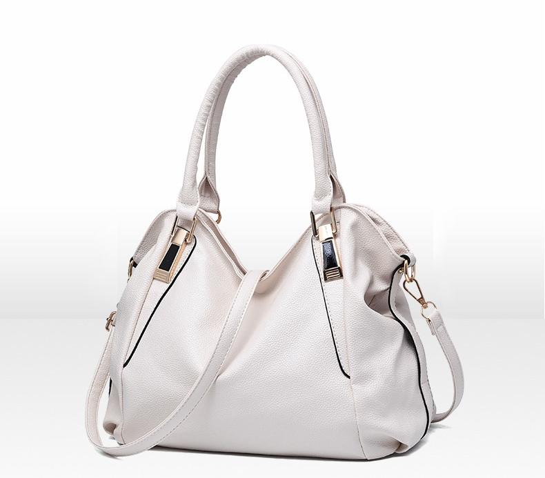 440337b55995 Вместительная красивая женская сумка Белого цвета официального стиля - Интернет  магазин Lisbag в Умани