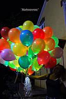 Палаючі кульки (сяючі) кольорові з білим діодом