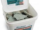 Камень жадеит колотый мелкий (ведро 10 кг) для электрокаменки, фото 3