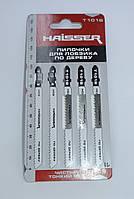 Полотно пиляльні для лобзика Haisser T101B по дереву (чистий тонкий рез), фото 1